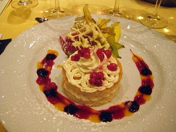 Mascarpone fairy cake