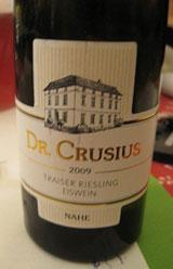 Dr. Crusius Traiser Riesling Eiswein 2009