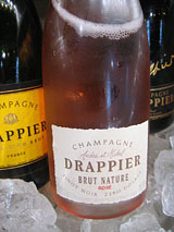 Drappier Rosé champagne