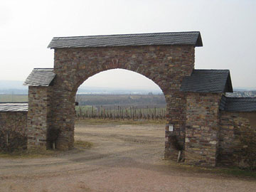 Gate to the Steinberg Vineyard