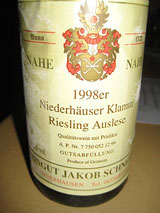 An amazing 1998 Auslese
