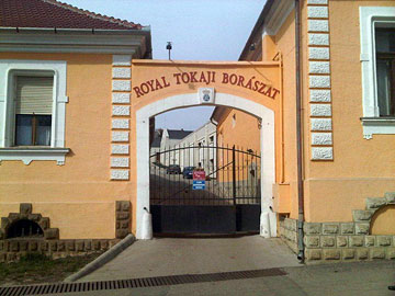 Entrance to Royal Tokaji Wine Company