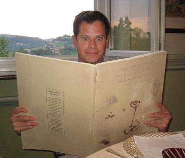 Steve Pauwels eyes Trattoria della Posta's wine list