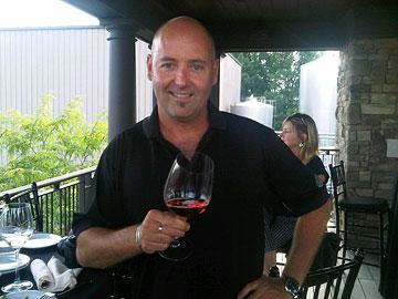 Hillebrand winemaker Craig McDonald