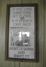 Sentimentality hunter-style