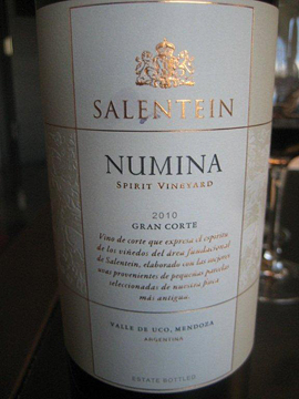 Salentein's great red blend