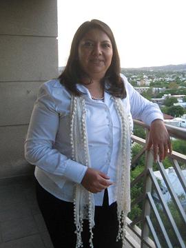 Maria Laura Ortiz, sommelier extraordinaire