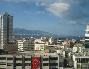Izmir from my hotel window