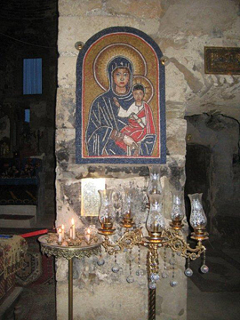 Shrine in the Church of the Virgin Mary, Harput