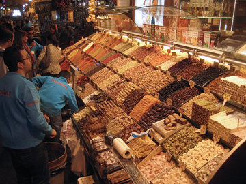 Sweetmeats and spices, Istanbul