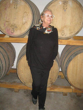 Franca Spinola, proprietor of La Parrina