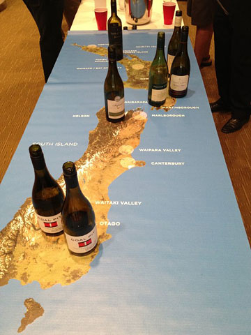 New Zealand Sauvignon Blanc regions