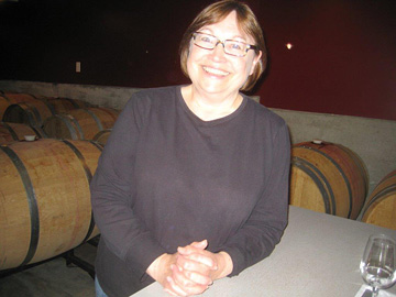 Garry Oaks winemaker Elaine Kozack