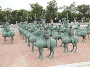 Bronze cavalry