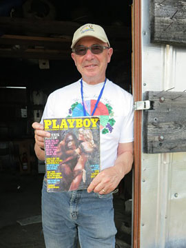 Tony with Playboy at Pigpen