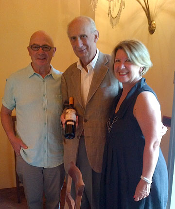Deborah and Tony with Leonardo Frescobaldi