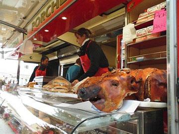 Market day in Radda