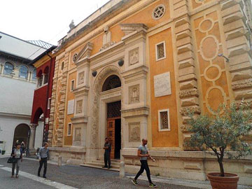 Verona's synagogue