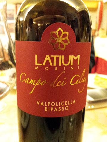 Latium Campo dei Ciliegi Valpolicella Ripasso 2012