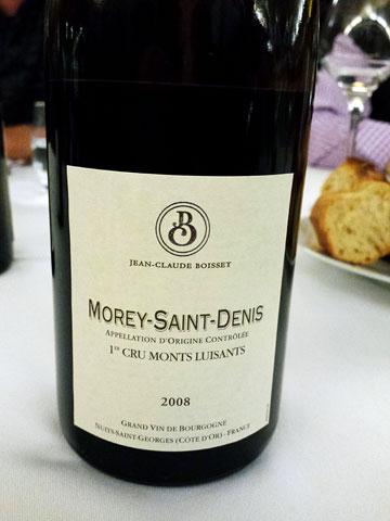 Jean-Claude Boisset Morey-Saint-Denis Monts Luisants 2008