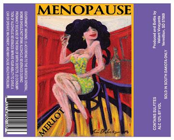 Menopause Merlot