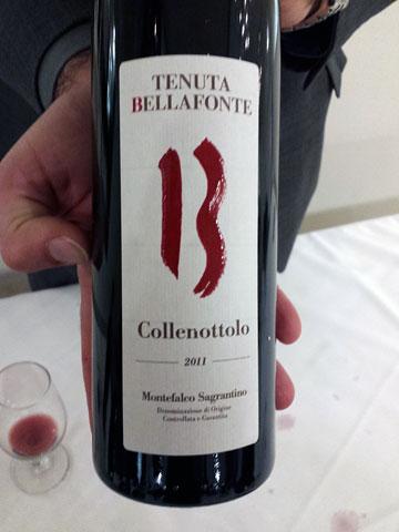 Tenute Bellafonte Collenottolo Sagrantino 2011