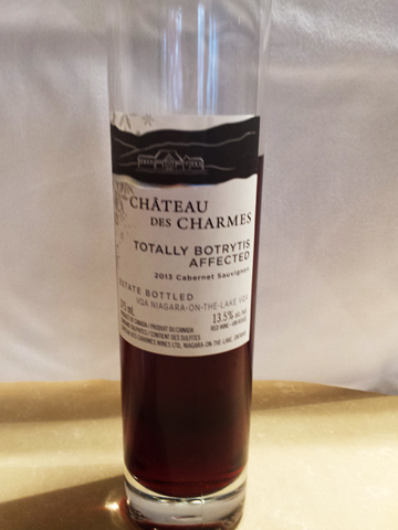 Ch. des Charmes  Totally Botrytis Affected Cabernet Sauvignon 2013