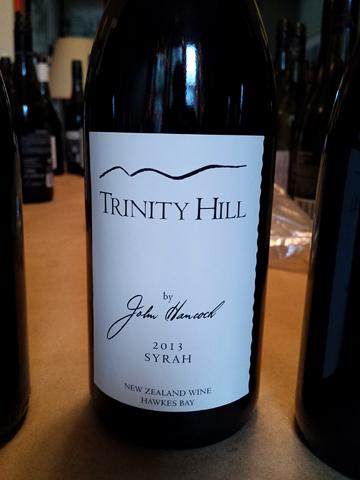 Trinity Hill by John Hancock Syrah 2013