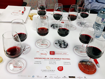 Grenaches of the World tasting