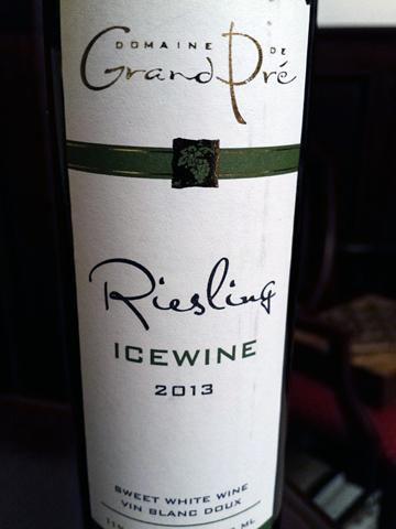 Grand Pré Riesling Icewine 2013