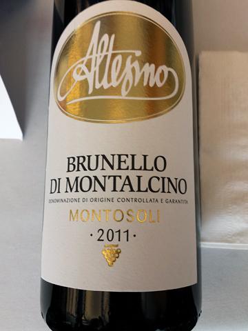 Altesino Brunello di Montalcino 'Montosoli' 2011