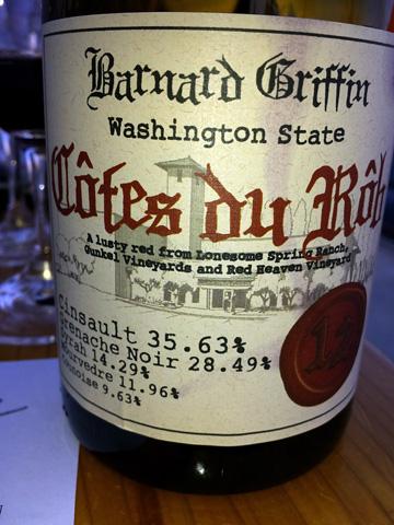 Barnard Griffin Côtes du Rôb 2012