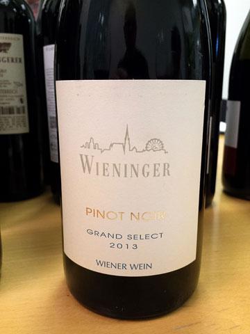 Wieninger Grand Reserve Pinot Noir 2013