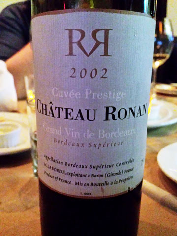 2006 Château Ronan