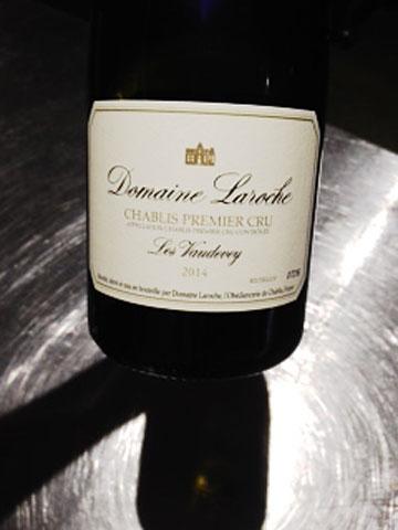 Domain Laroche Chablis Premier Cru 'Les Vaudevey' 2014