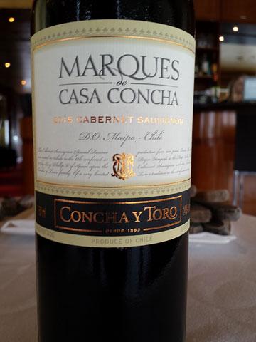 Marques de Casa Concha Cabernet Sauvignon 2015