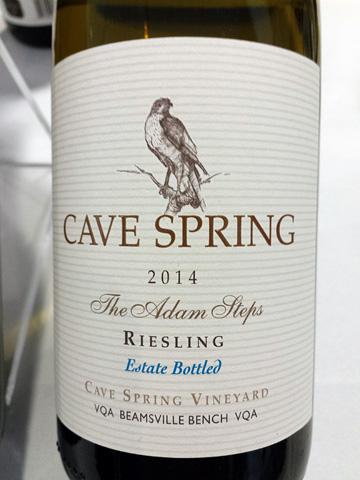 Cave Spring Cellars Riesling Adam Steps 2014
