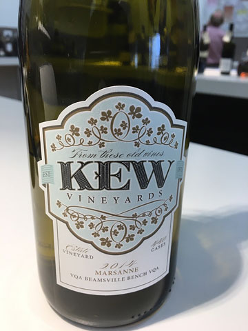 Kew Vineyards Marsanne 2014