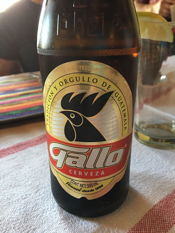 Gallo beer