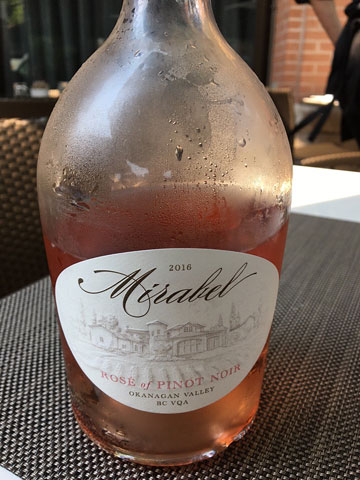 Mirabel Rosé of Pinot Noir 2016