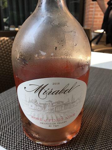 Mirabel Rosé of Pinot Noir 2016