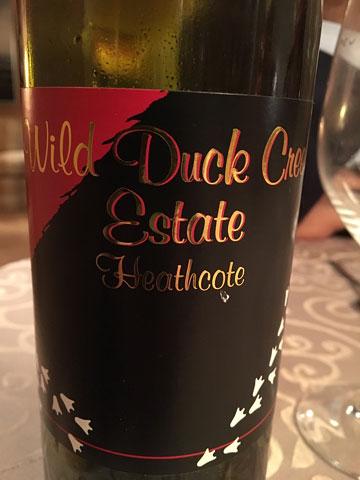 Wild Duck Creek Estate 'Duck Muck' Shiraz 2007