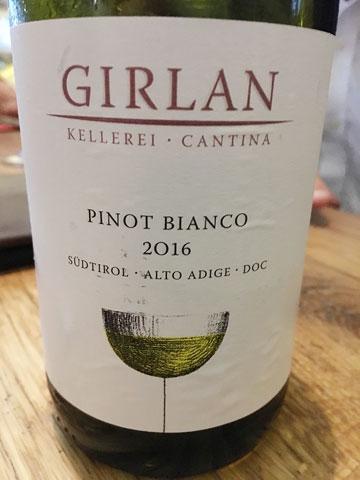 irlan Pinot Bianco 2016