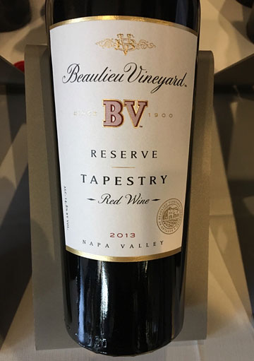Beaulieu Vineyard Tapestry Red Wine 2013