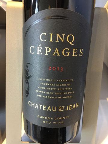 Chateau St. Jean Cinq Cepages 2012