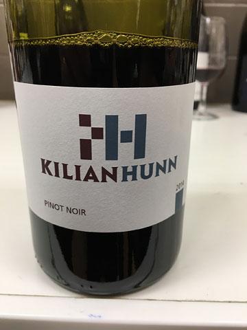 Kilian Hunn Pinot Noir 2014