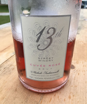 13th Street Winery Cuvée Rosé Brut