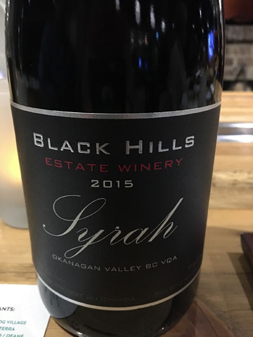 Black Hill Syrah 2015