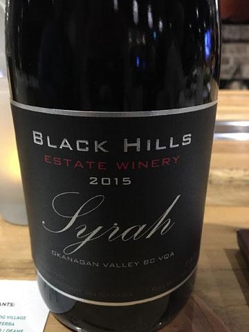 Black Hill Syrah 2015
