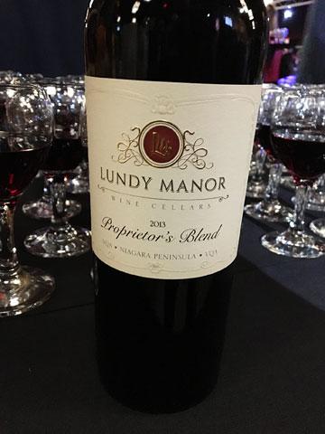 Lundy Manor Wine Cellars Proprietor's Blend 2013